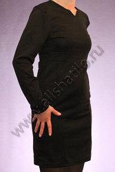 Классическое черное платье