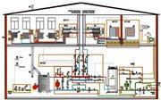 Монтаж отопления частного дома.