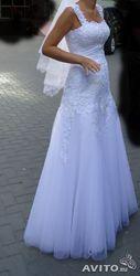 продам б.у свадебное платье