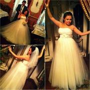 Свадебное платье айвори 44-46 Липецк