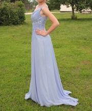 Выпускное платье Плюмаж Л