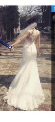 Шикарное кружевное платье La Sposa