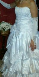Свадебное платье бу,